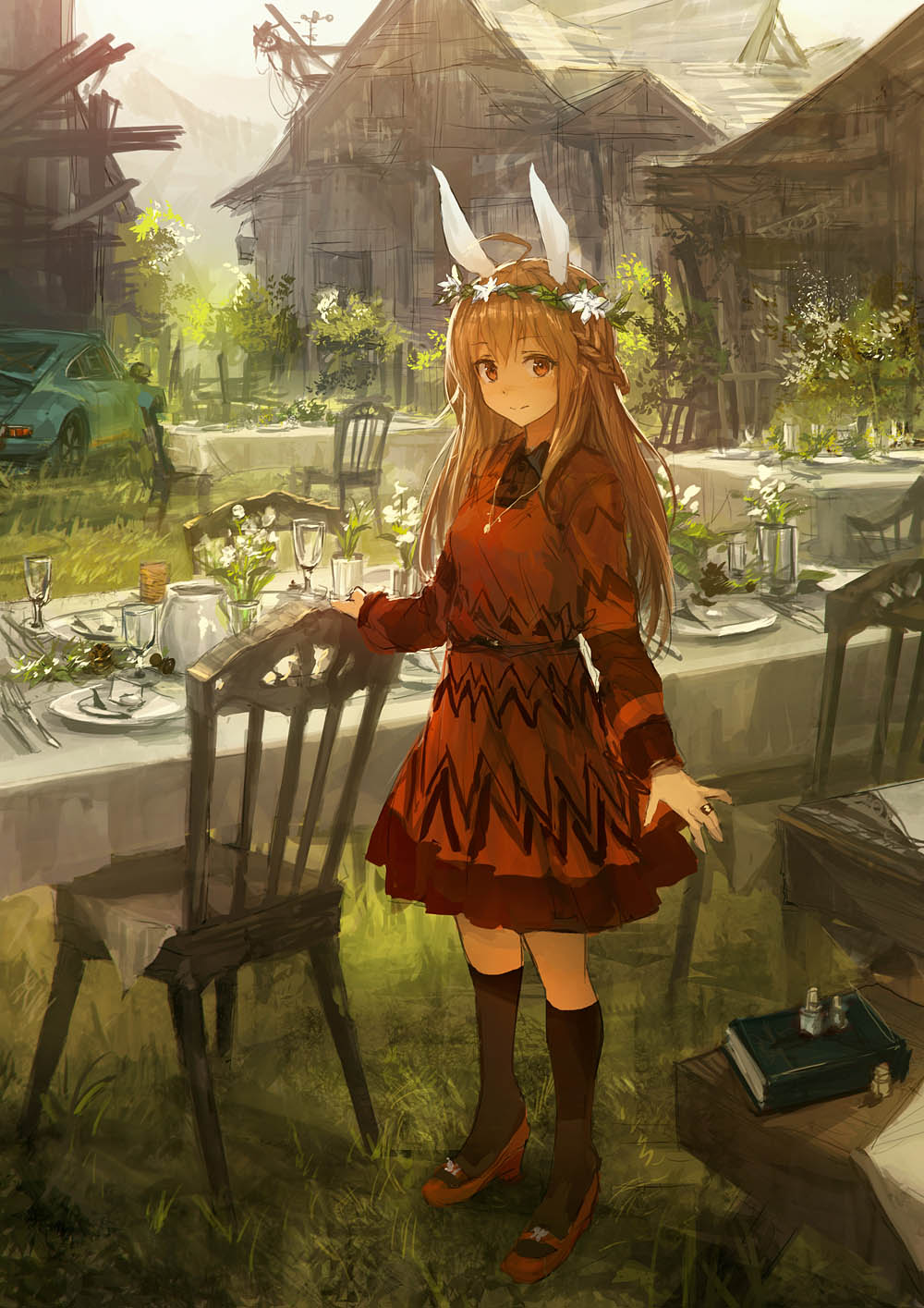 animal_ears bunny_ears dress heels lm7