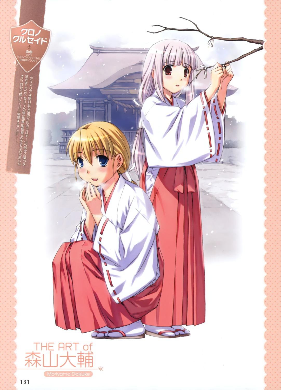 azmaria_hendric chrno_crusade miko moriyama_daisuke rosette_christopher