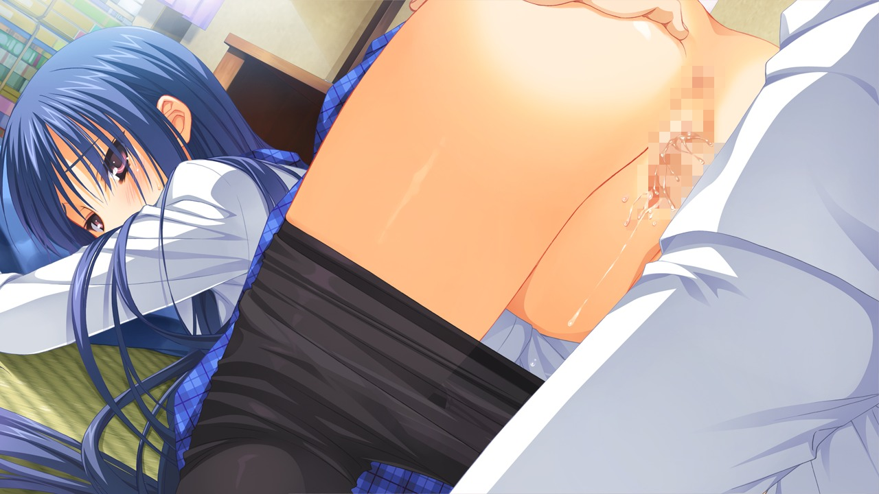 ass censored game_cg muririn nagamitsu_maya noble_works pantyhose penis pussy pussy_juice seifuku sex yuzu-soft