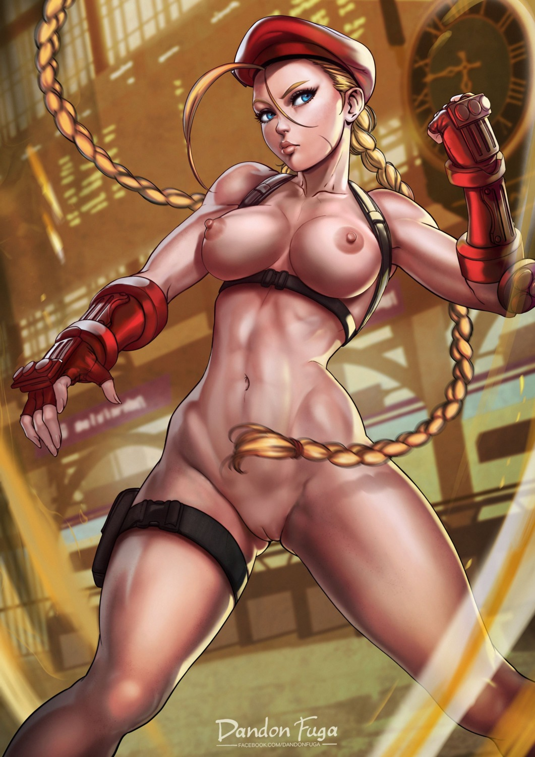 cammy_white dandon_fuga naked nipples pussy street_fighter street_fighter_v uncensored