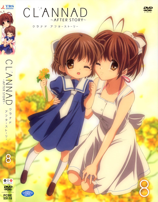 clannad clannad_after_story disc_cover furukawa_nagisa okazaki_ushio seifuku