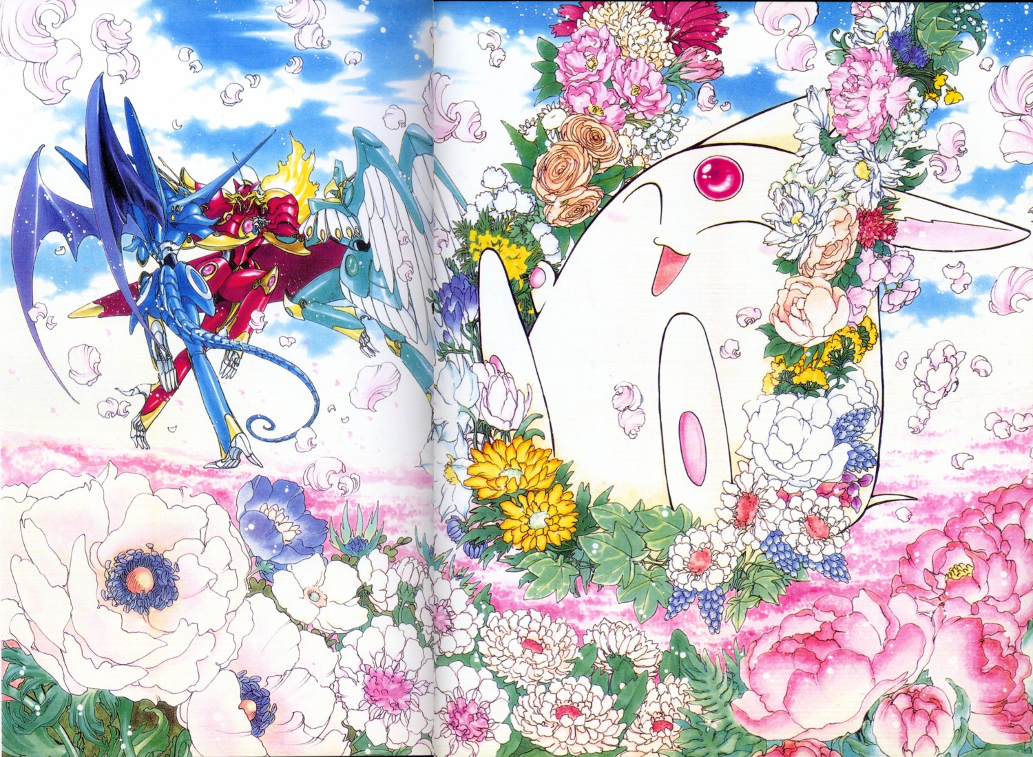 clamp fixme magic_knight_rayearth mokona